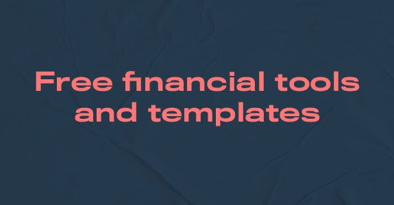 Free financial tools and templates