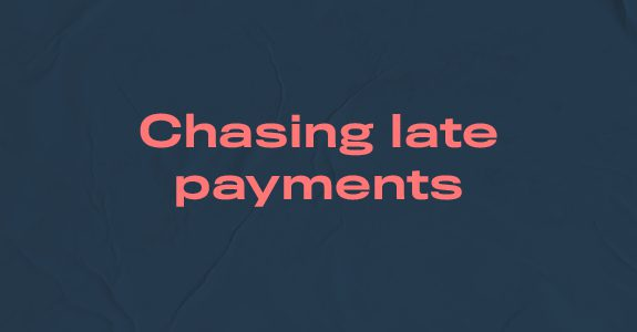 Chasing late payments